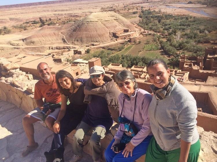 Découverte de Ouarzazate et sa région avec des amis